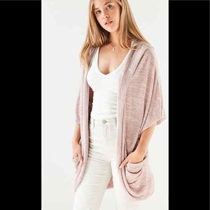 NWT SILENCE & NOISE COCOON CARDIGAN SWEATER SMALL